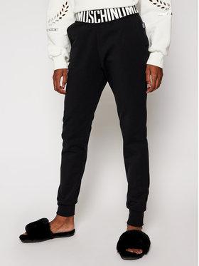 Moschino Underwear & Swim Moschino Underwear & Swim Teplákové nohavice 43 379 029 Čierna Regular Fit