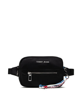 Tommy Hilfiger Tommy Hilfiger Geantă crossover Tjw Fashion Nylon AW0AW10151 Negru