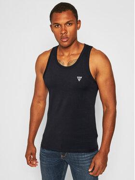 Guess Guess Tank top marškinėliai U97M02 JR003 Juoda Regular Fit