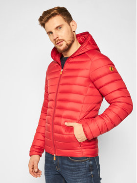 Save The Duck Save The Duck Giubbotto piumino D3065M GIGAY Rosso Regular Fit