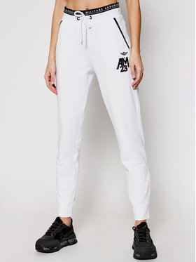 Aeronautica Militare Aeronautica Militare Pantalon jogging 211PF808DF423 Blanc Regular Fit