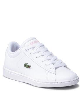 Lacoste Lacoste Sneakersy Carnaby Evo 0121 1 Suc 7-42SUC00021Y9 Biały