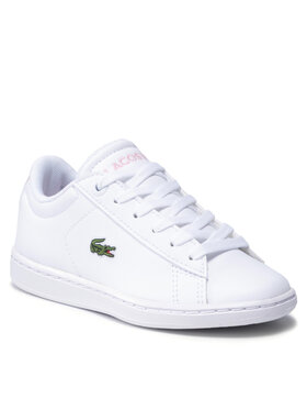 Lacoste Lacoste Сникърси Carnaby Evo 0121 1 Suc 7-42SUC00021Y9 Бял