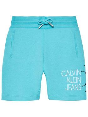 Calvin Klein Jeans Calvin Klein Jeans Sportske kratke hlače Hybrid Logo IB0IB00798 Plava Regular Fit