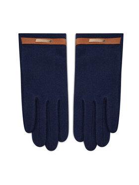 Lauren Ralph Lauren Lauren Ralph Lauren Moteriškos Pirštinės Belted Knit Glove 454855043004 Tamsiai mėlyna