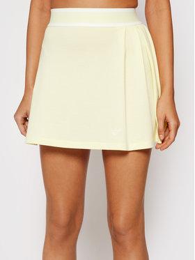 adidas adidas Teniso sijonas Tennis Luxe H56435 Geltona Regular Fit