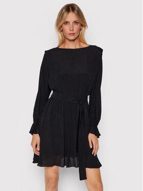 Marella Marella Коктейлна рокля Vanna 32260216200 Черен Regular Fit