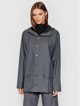 Rains Rains Veste imperméable Unisex 1201 Gris Regular Fit