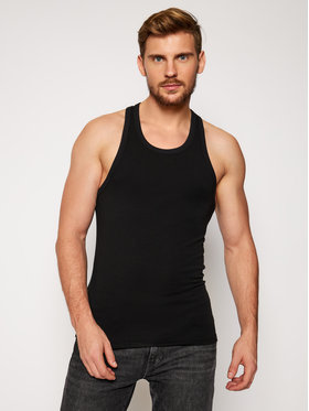 Dsquared2 Underwear Dsquared2 Underwear Tank top marškinėliai D9D433270 Juoda Slim Fit