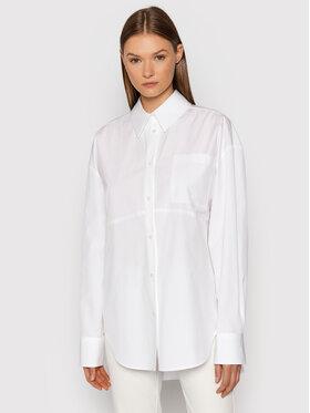 MSGM MSGM Marškiniai 3141MDE12 217603 Balta Oversize