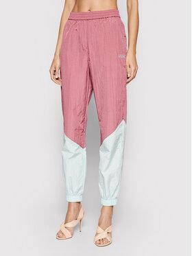 Guess Guess Pantaloni da tuta W0GA00 WC480 Rosa Comfort Fit