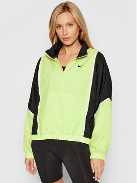 Nike Nike Μπουφάν μεταβατικό Sportswear Woven Piping CJ3685 Κίτρινο Loose Fit