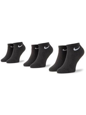 Nike Nike Sada 3 párů nízkých ponožek unisex SX7667-010 Černá