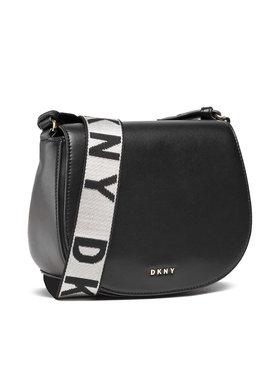 DKNY DKNY Torbica Winonna Saddle Bag R12EKM64 Crna