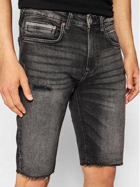 Pepe Jeans Pepe Jeans Дънкови шорти Stanley PM800857 Сив Slim Fit