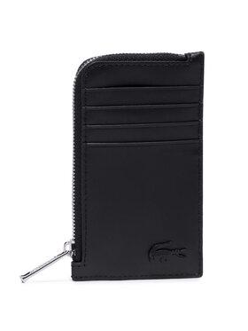 Lacoste Lacoste Étui cartes de crédit Slim Zip Card Holder NH3458DD Noir