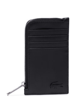 Lacoste Lacoste Pouzdro na kreditní karty Slim Zip Card Holder NH3458DD Černá