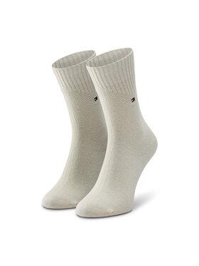 TOMMY HILFIGER TOMMY HILFIGER Hosszú női zokni 100001311 Bézs