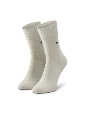 Tommy Hilfiger Tommy Hilfiger Vysoké dámske ponožky 100001311 Béžová