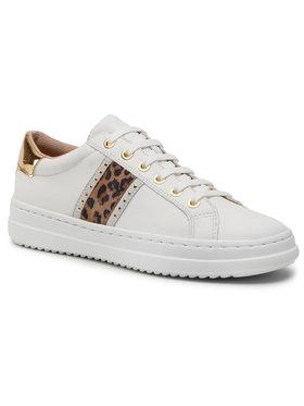 Geox Geox Sneakersy D Pontoise G D04FEG 085BN C1352 Biela