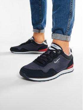 Pepe Jeans Pepe Jeans Sneakersy Cross 4 Urban PMS30669 Tmavomodrá
