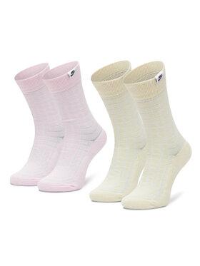 NIKE NIKE Σετ 2 ζευγάρια ψηλές κάλτσες unisex CK5590-902 Έγχρωμο