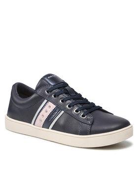 Geox Geox Sneakersy J Kathe G. F J16EUF 00085 C4021 S Granatowy