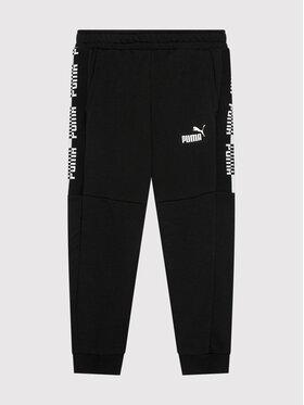 Puma Puma Pantalon jogging Amplified 586006 Noir Regular Fit