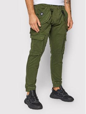 Alpha Industries Alpha Industries Текстилни панталони Utility 128202 Зелен Slim Fit