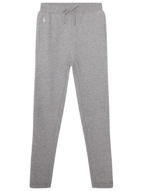 Polo Ralph Lauren Polo Ralph Lauren Teplákové kalhoty Fleece Leggi 312698768004 Šedá Regular Fit