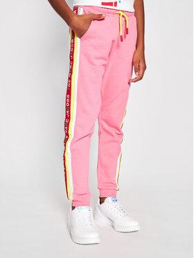 Little Marc Jacobs Little Marc Jacobs Pantalon jogging W14264 S Rose Regular Fit