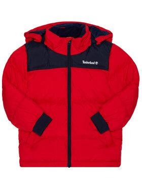 Timberland Timberland Kurtka zimowa T26515 S Czerwony Regular Fit