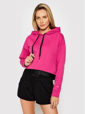 4F 4F Bluza H4L21-BLD011 Różowy Regular Fit