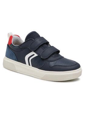 Geox Geox Sneakersy J Nettuno B. C J15AWC 0BU85 C0735 D Tmavomodrá