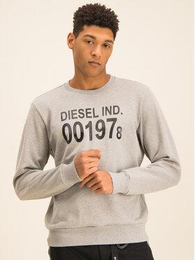 Diesel Diesel Суитшърт S-Girk-J3 00SDPY 0IAJH Сив Regular Fit