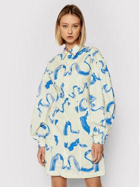 Remain Remain Sukienka koszulowa Gemma RM549 Beżowy Regular Fit