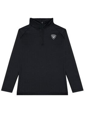 Rossignol Rossignol Technikai pulóver 1/2 Zip Warm RLIYL04 Fekete Regular Fit