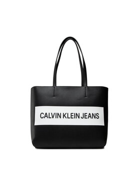 Calvin Klein Jeans Calvin Klein Jeans Torebka Shopper K60K608563 Czarny
