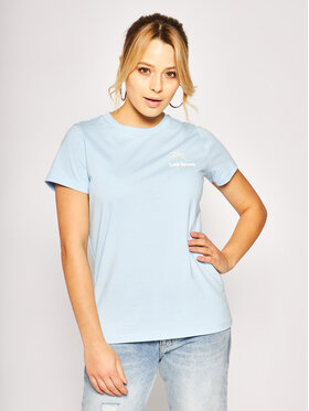 Lee Lee T-Shirt L41TEPNR Blau Regular Fit