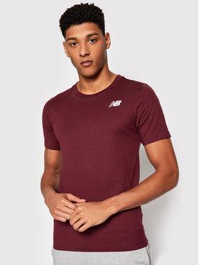 New Balance New Balance T-shirt Classic Arch NBMT1198 Bordeaux Slim Fit