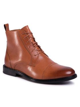 Gino Rossi Gino Rossi Šnurovacia obuv Chuck MTU417-871-4300-5000-1 Hnedá