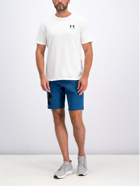 Under Armour Under Armour Тишърт 1326799 Бял Loose Fit