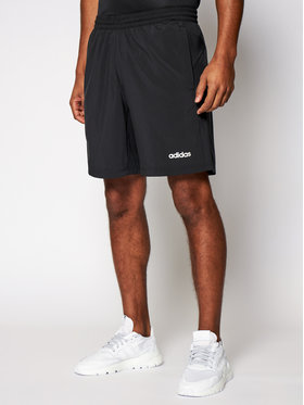 adidas adidas Športové kraťasy D2M Cool Sho Wv DW9568 Čierna Regular Fit