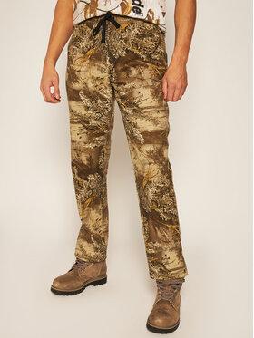 HUF HUF Spodnie materiałowe Lincoln PT00137 Beżowy Regular Fit