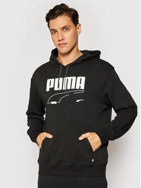 Puma Puma Pulóver Rebel 585742 Fekete Regular Fit