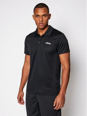 adidas adidas Polo marškinėliai Design 2 Move FL0330 Juoda Regular Fit