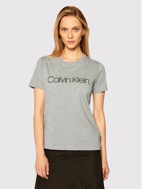 Calvin Klein Calvin Klein T-shirt Core Logo K20K202142 Gris Regular Fit