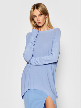 Kontatto Kontatto Sweater 3M7218 Kék Oversize