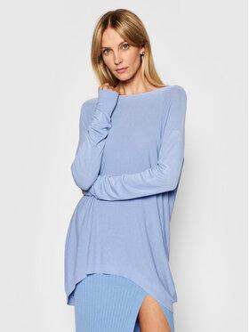 Kontatto Kontatto Sweter 3M7218 Niebieski Oversize