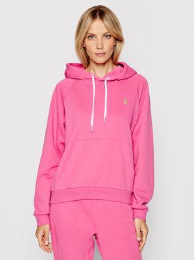 Polo Ralph Lauren Polo Ralph Lauren Bluza Lsl 211790473013 Różowy Regular Fit